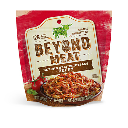 Beyond Meat BeefyBeef Crumble (11oz/pack)(vegan)