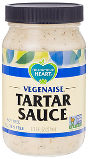 Follow your Heart Vegenaise Tartar Sauce (8oz/bottle)(vegan)