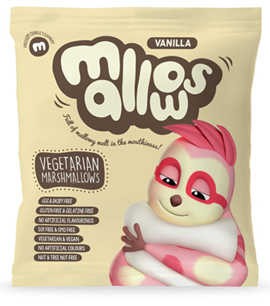 Vanilla Mallows (75g/Pack)(vegan)