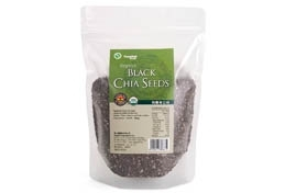 Organic Black Chia Seeds (300g/pack)(vegan)