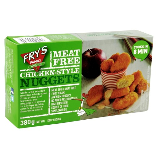 Fry's Chicken Style Nuggets (380g/pack)(vegan)
