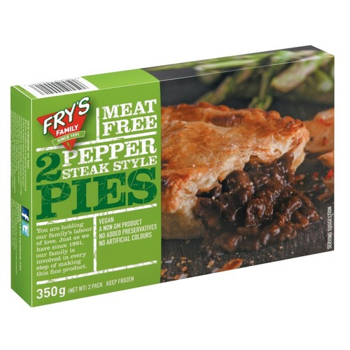 Fry's Pepper Steak Pies Pre-Order (2pcs/pack)(vegan)