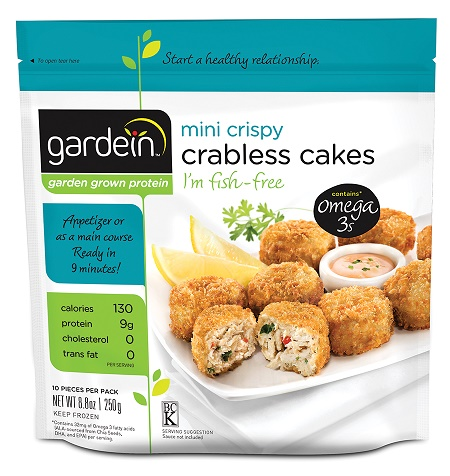 Gardein mini crispy crabless cakes (8.8oz/pack)(vegan)