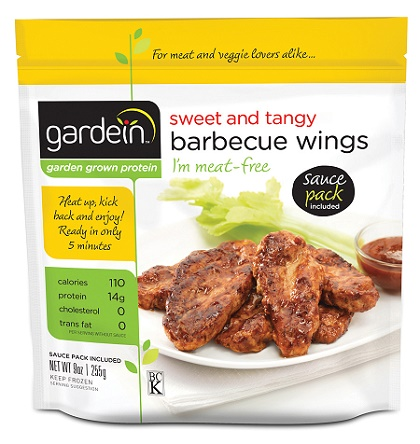Gardein sweet and tangy bbq wings (9oz/pack)(vegan)