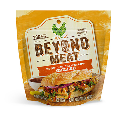 Beyond Chicken Grilled Strips (9oz/pack)(vegan)
