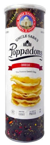 Poppadoms Barbecue (70g/Can)(vegan)