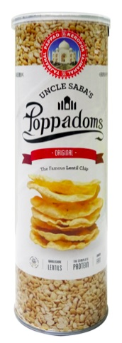 Poppadoms Original (70g/Can)(vegan)